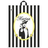 """Пакет с петлевой ручкой ПВД, 44х36 см, """"Марина"""", 43 мкм"""
