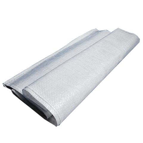 Мешки полипропиленовые до 50 кг, комплект 100 шт., 105х55 см, вес 72 г, широкого спектра применения, белые, 601910