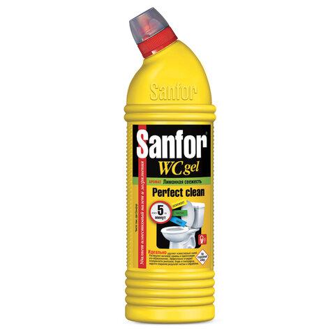 Средство для уборки туалета 750 г, SANFOR WC gel (Санфор гель)