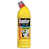 """Средство для уборки туалета 750 г, SANFOR WC gel (Санфор гель) """"Морской бриз"""", 1549"""