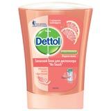"""Картридж с жидким мылом 250 мл, DETTOL (Детол) """"Грейпфрут"""", антибактериальный, диспенсер 601998, 8070804"""