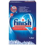 Средство для мытья посуды в посудомоечных машинах 1,5 кг, FINISH (Финиш), соль от накипи, 3012703