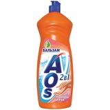 "Средство для мытья посуды 1 л, AOS ""Бальзам"", 514-3, 401-3"