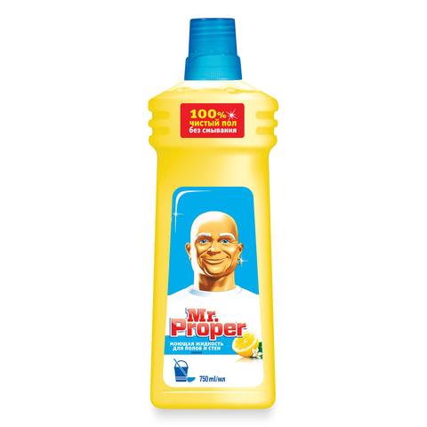 Средство для мытья пола и стен 750 мл, MR.PROPER (Мистер Пропер)