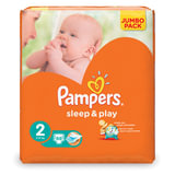 "Подгузники 88 шт., PAMPERS (Памперс) ""Sleep&Play"", размер 2 (3-6 кг)"