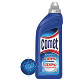 Средство для удаления ржавчины и известкового налета дезинфицирующее 500 мл, COMET (Комет), гель, 99720