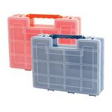 Ящик-органайзер для инструментов и мелочей, 2-х сторонний, 8х27х22 см, IDEA, М 2956