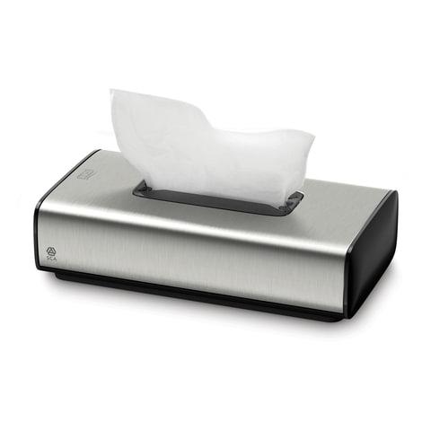 Диспенсер для косметических салфеток TORK (Система F1) Image Design, настольный, металлический, 460013