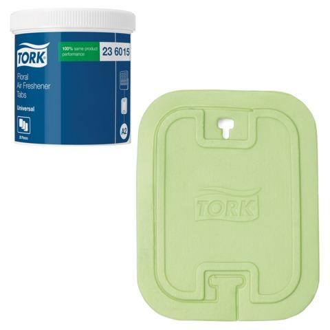 Освежитель воздуха твердый TORK (Система А2) Premium, комплект 20 шт., цветочный, 236015