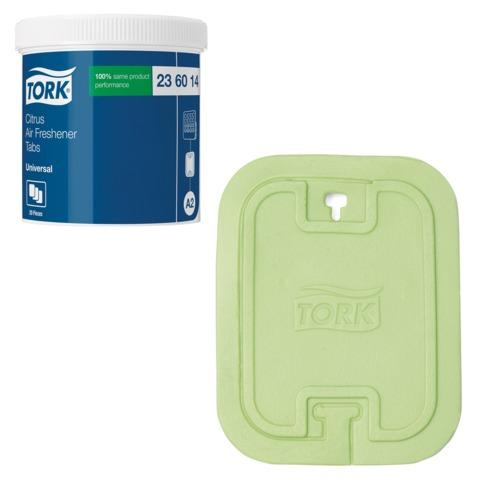 Освежитель воздуха твердый TORK (Система А2) Premium, комплект 20 шт., цитрусовый, 236014