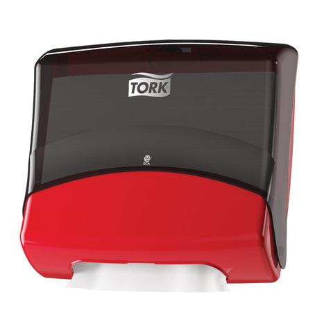 Диспенсер для протирочных материалов TORK (Система W4) Performance, в салфетках, черный, 654008