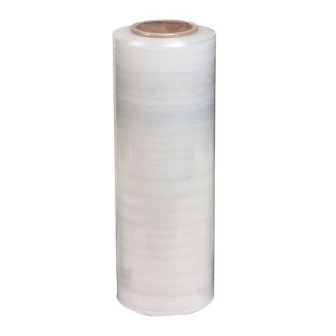 Стрейч-пленка для упаковки (мини-рулон), ширина 25 см, длина 200 м, 0,92 кг, 20 мкм