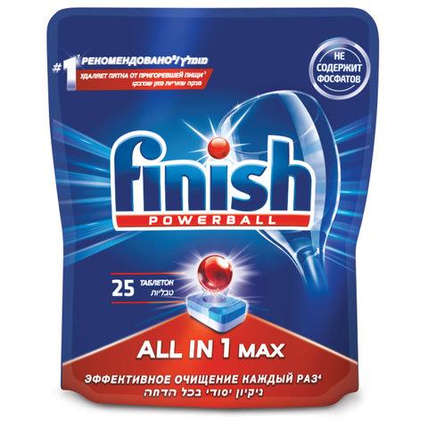 Таблетки для посудомоечных машин 25 шт. FINISH