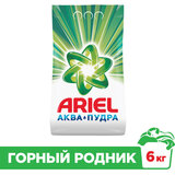 """Стиральный порошок-автомат 6 кг, ARIEL (Ариэль), """"Горный родник"""""""