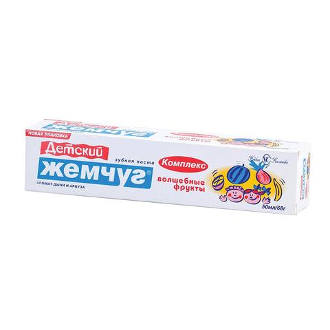 Зубная паста детская 50 мл, ДЕТСКИЙ ЖЕМЧУГ