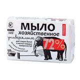 Мыло хозяйственное 72%, 180 г (Невская косметика), универсальное, в упаковке, 11143