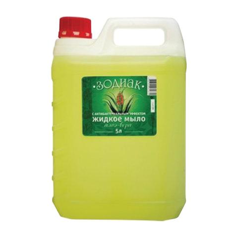 Мыло жидкое 5 л, ЗОДИАК, антибактериальное,