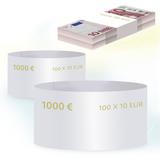 Бандероли кольцевые, комплект 500 шт., номинал 10 евро