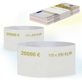 Бандероли кольцевые, комплект 500 шт., номинал 200 евро