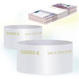 Бандероли кольцевые, комплект 500 шт., номинал 500 евро