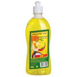 "Средство для мытья посуды 500 мл, ЛОТОС ""Лимон"", пуш-пул"