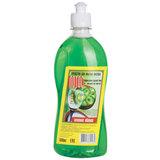 """Средство для мытья посуды 500 мл, ЛОТОС """"Зелёное яблоко"""", пуш-пул"""
