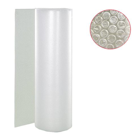 Пленка воздушно-пузырчатая 2-х слойная, ширина 1,2 м, длина 50 м, плотность 40 г/м2