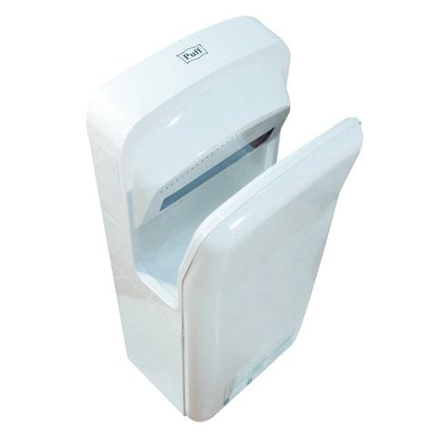 Сушилка для рук PUFF 8878B, 2000 Вт, погружного типа, время сушки 10 секунд, пластик, белая, 1401.340