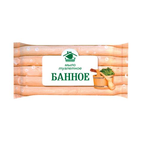 """Мыло туалетное 150 г, """"Банное"""", (Меридиан)"""