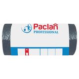 "Мешки для мусора 60 л, черные, в рулоне 50 шт., ПНД, 6,2 мкм, 60х80 см, PACLAN ""Professional"", 40401"