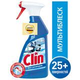 """Средство для мытья стекол и поверхностей 500 мл, CLIN (Клин) """"Мультиблеск"""", распылитель, 2295472"""