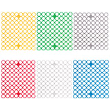 Сетка-решетка для раковины эластичная, прямоугольная, 29х26х0,5 см, цвет ассорти, YORK, 95620