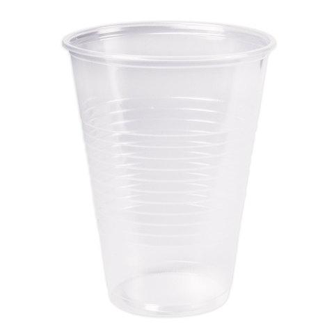 Одноразовый стакан, ЭКОНОМ, 200 мл, 1 шт., полипропилен (ПП), прозрачный, для холодного/горячего, СТИРОЛПЛАСТ, С.200.70.01