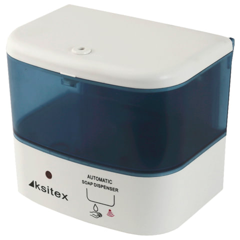 Диспенсер для жидкого мыла KSITEX, наливной, сенсорный, белый, 0,5 л, SD A2-500