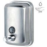 Диспенсер для жидкого мыла KSITEX, наливной, нержавеющая сталь, матовый, 0,5 л, SD 2628-500М