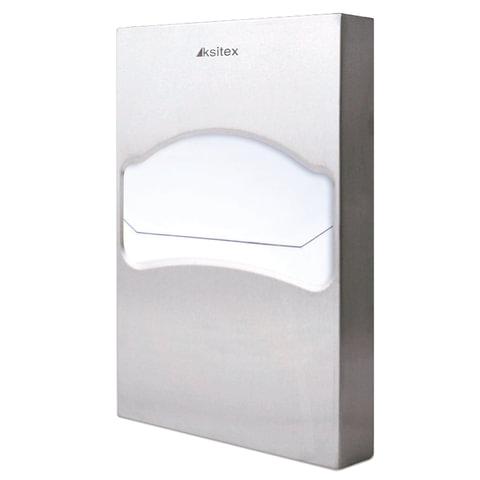 Диспенсер для покрытий на унитаз KSITEX (покрытия 1/4 сложения), нержавеющая сталь, зеркальный, TCN-506-1/4