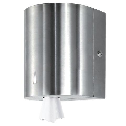 Диспенсер для полотенец KSITEX, с центральной вытяжкой, нержавеющая сталь, зеркальный, ТН-313S
