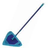 """Швабра для уборки, ручка телескопическая 75-130 см, флаундер треугольный, МОП микрофибра, """"Bermuda"""", YORK, 81320"""