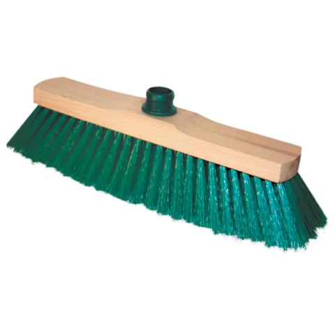 """Щетка для уборки, ширина 32 см, длина щетины 7 см, деревянная, """"Sara"""", YORK, 200"""