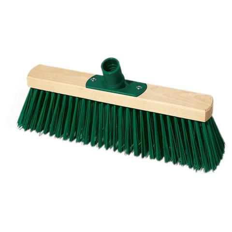 Щетка для уборки техническая, ширина 30 см, длина щетины 7,5 см, деревянная, YORK, 100