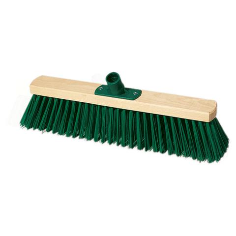 Щетка для уборки техническая, ширина 40 см, длина щетины 7,5 см, деревянная, YORK, 110