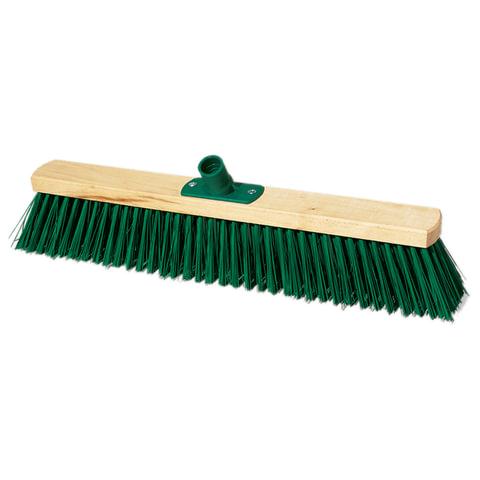 Щетка для уборки техническая, ширина 50 см, длина щетины 7,5 см, деревянная, YORK, 120