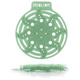 """Коврики-вставки для писсуара, ЭКОС (POWER-SCREEN), на 30 дней каждый, комплект 2 шт., аромат """"Сосна"""", цвет зеленый, PWR-9G"""