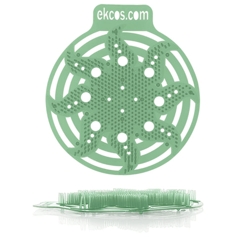 Коврики-вставки для писсуара, ЭКОС (POWER-SCREEN), на 30 дней каждый, комплект 2 шт., аромат