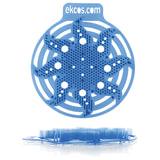 "Коврики-вставки для писсуара, ЭКОС (POWER-SCREEN), на 30 дней каждый, комплект 2 шт., аромат ""Мята"", цвет синий, PWR-3B"