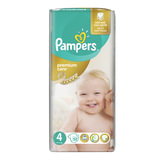 "Подгузники 52 шт., PAMPERS (Памперс) ""Premium Care"", размер 4 (8-14 кг), PA-81610045"