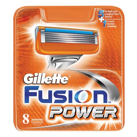 Сменные кассеты для бритья 8 шт., GILLETTE (Жиллет)