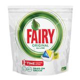 """Средство для мытья посуды в посудомоечных машинах, 84 шт., FAIRY (Фейри) """"All in 1"""", """"Лимон"""", капсулы, FR-81652888"""