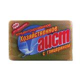 Мыло хозяйственное 150г АИСТ, с глицерином, 4304010004