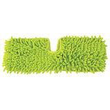 Насадка МОП плоская 40 см двусторонняя для швабр 605026/601465, микрофибра, ЛЮБАША, 605027